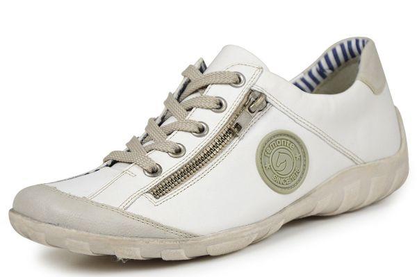 Remonte R3408-80 Damen Sneaker Wechselfußbett weiß kombi