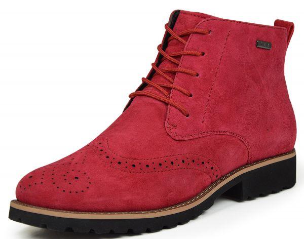 Grünwald 778-4 Damen Boots Lammfell rot