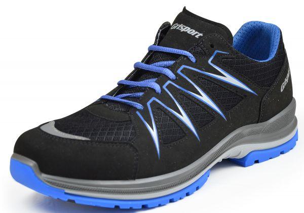 Grisport 13901L20 High Tech Herren Sneaker Wechselfußbett, schwarz