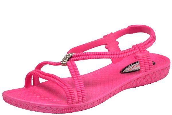 Siebi`s Tenno Damen Dusch- und Bade Sandalen pink
