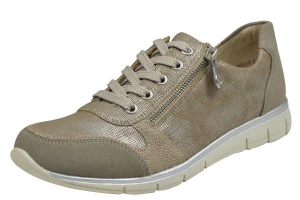 Rieker N4020 Damen Sneaker grau