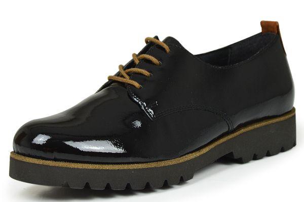 Remonte D0102-02 Damen Schnürschuhe Wechselfußbett schwarz