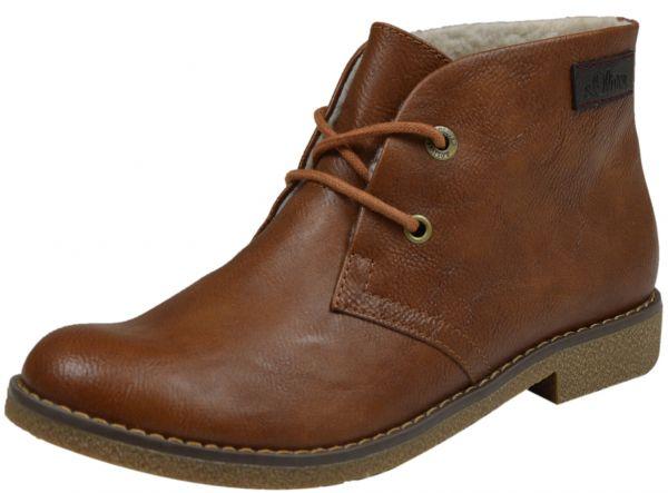 s.Oliver 5-26111-23 Damen Desert Boots cognac ( braun )