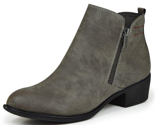 s.Oliver 5-25302-27 Damen Kurzschaft Stiefel graphit (grau)