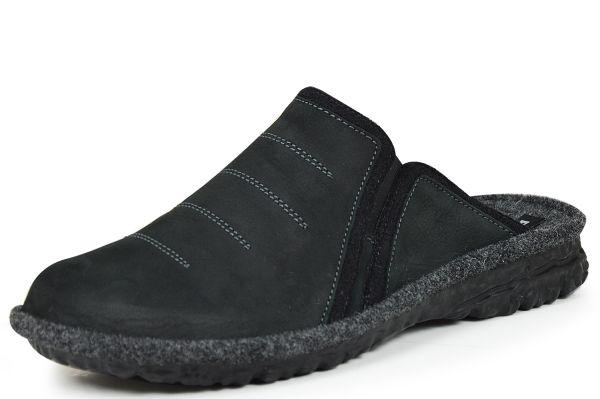 Romika Mikado H 49 Herren Pantoffeln schwarz
