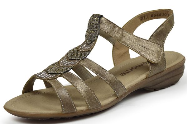 Remonte R3637-90 Damen Sandalen gold