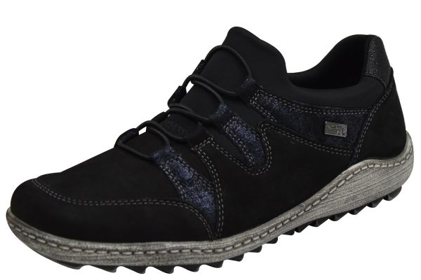 Remonte R1409-02 Damen Sneaker schwarz kombi