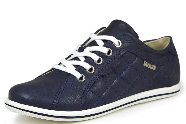 Nagaba 16N3195 Damen Schnürschuhe Sneaker blau