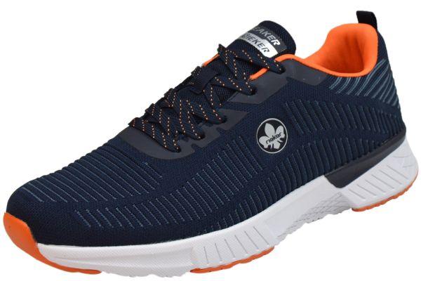 Rieker B9820-14 Herren Sneaker blau