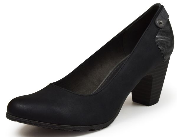 s.Oliver 22404 Damen Pumps Soft Foam schwarz