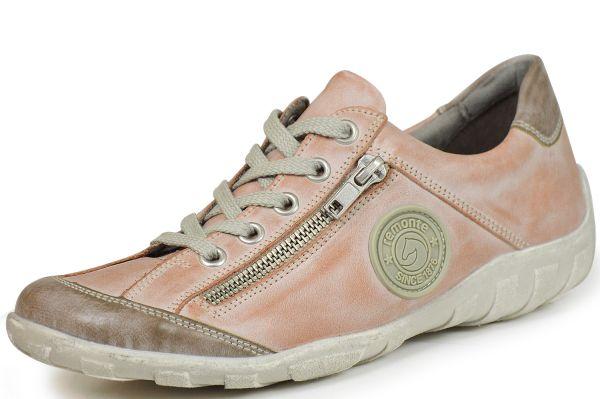 Remonte R3408-31 Damen Sneaker Wechselfußbett rosa