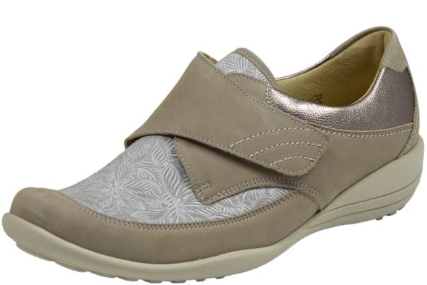 Waldläufer Ortho Tritt Katja - Soft K01304 323 970 Damen Schuhe beige taupe sand