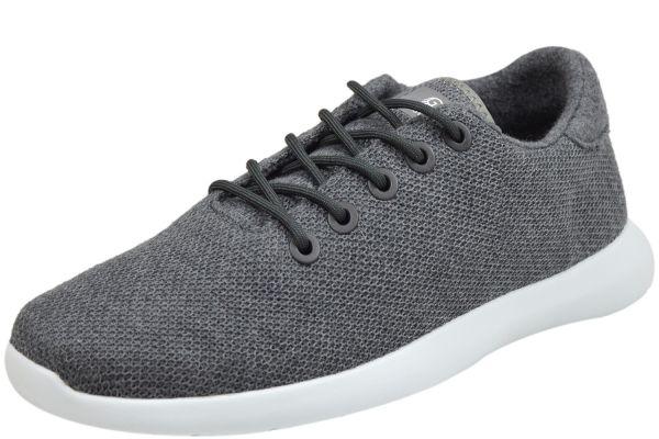 Giesswein 72/10/49309 519 Herren Sneaker Merino Wool Knit schiefer
