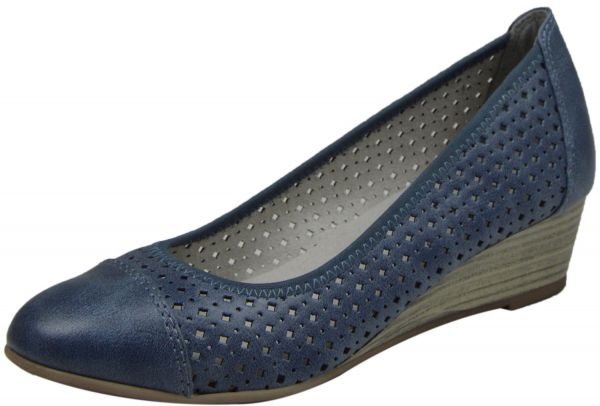 Jana 8-22365-24 Damen Pumps blau ( denim )