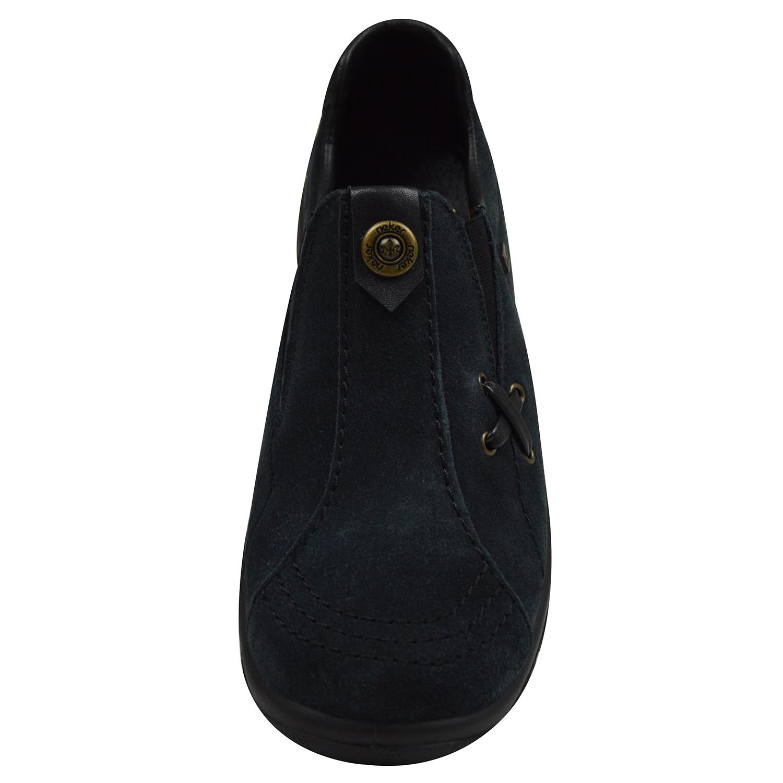 Rieker L7171 14 Damen Slipper blau | Schuhpyramide KEDVD