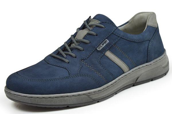 Waldläufer Hadrian 365002 Herren Schnürschuhe jeans/grau