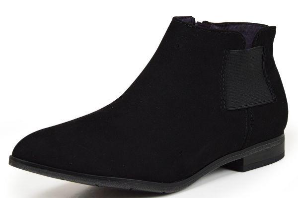 Marco Tozzi 2-25336-25 Damen Chelsea Boots schwarz