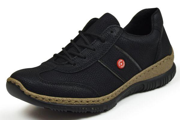 Rieker N3220-01 Damen Sneaker schwarz
