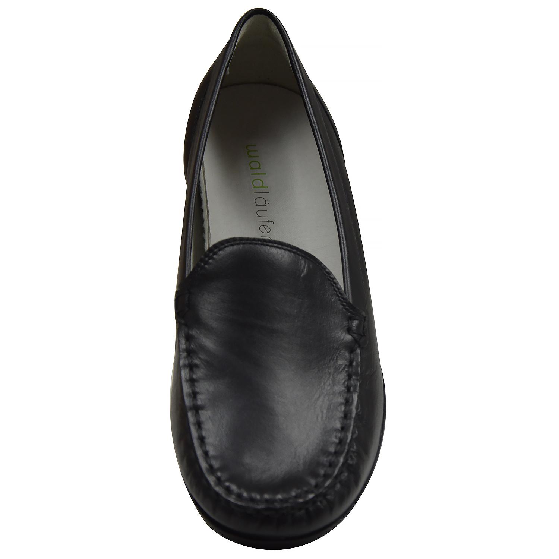 waldl ufer hina 437502 damen slipper weite h schwarz. Black Bedroom Furniture Sets. Home Design Ideas