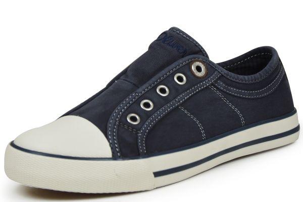 s.Oliver 5-24635-26 Damen Sneaker blau navy