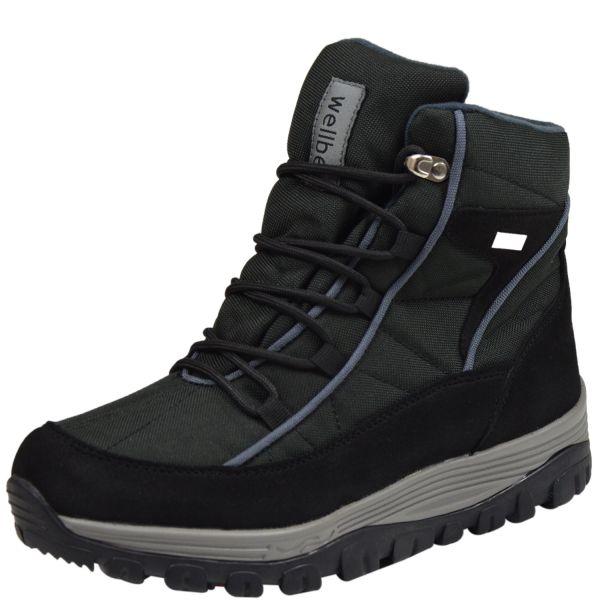 Wellbe Toronto unisex Allwetter Boots schwarz/grau