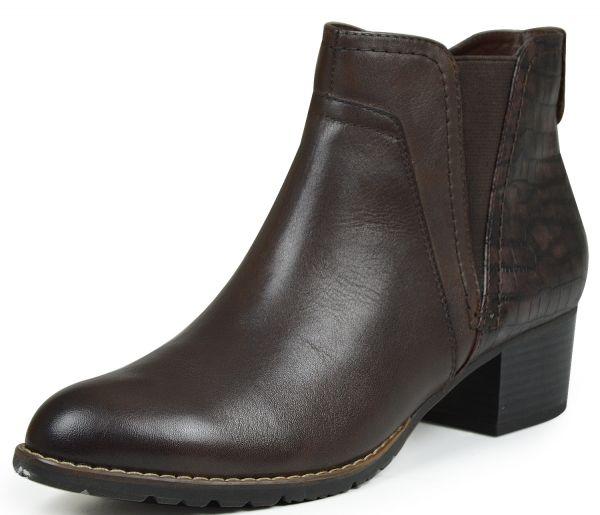 Jana 25316 Damen Chelsea Boots mocca (braun)