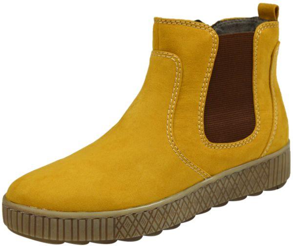 Jana 8-25461-25 Damen Ancle Boots gelb ( saffron )