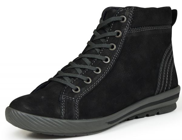 Longo 49227 Damen High Top Sneaker schwarz
