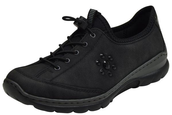 Rieker L3267-00 Memo Soft Damen Sneaker schwarz