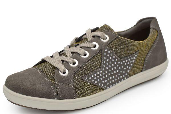Remonte D9105-42 Damen Sneaker Wechselfußbett, grau