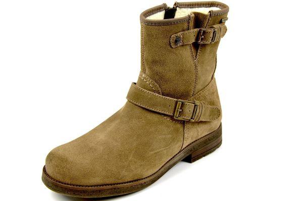 MARC Lydia 1.674.08-27 Damen Biker Boots, Schneestiefel, Tex Membrane, truffle (braun)