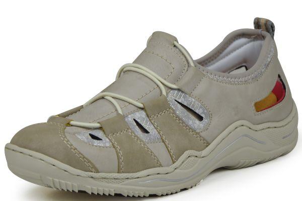 Rieker Antistress L0561-42 Damen Sneaker Grau kombi
