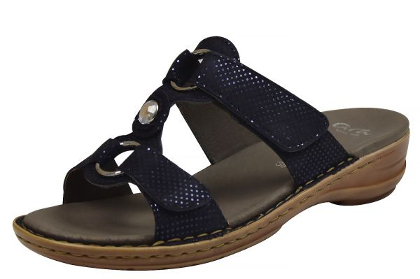 Ara Hawaii Damen Pantoletten blau ( midnight )