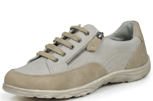 Jana soft line 8-23660-28 Damen Sneaker Weite H grau