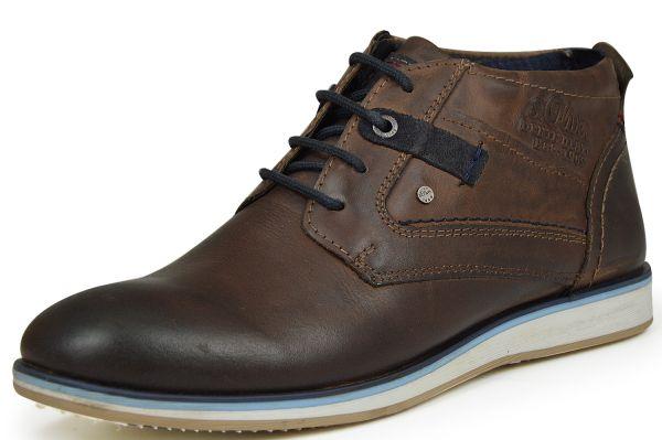 s.Oliver 5-15108-27 Herren Chukka Boots braun ( mocca )