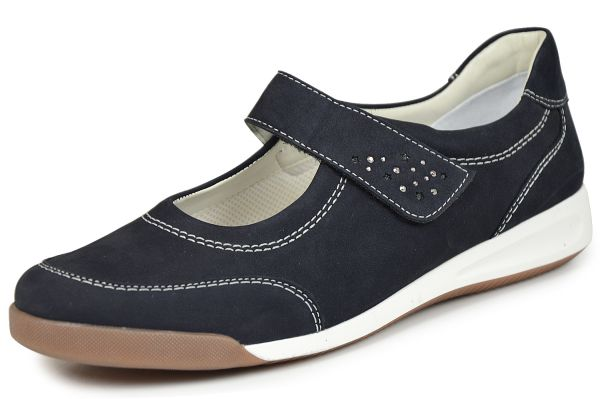 Ara Rom 12-34411 Damen Slipper blau