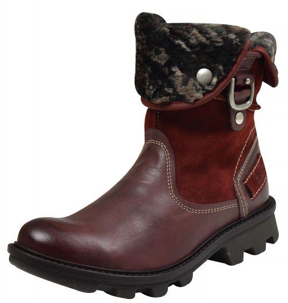Josef Seibel Marylin 11 Damen Kurzschaftstiefel Boots carmin, rot