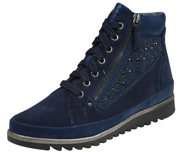 Jana 25207 Damen Boots navy ( blau )