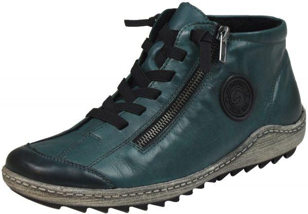 Remonte R1498 Damen High Top Sneaker blau ( petrol )