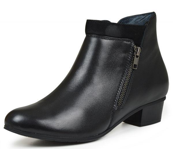 Grünwald 751-15 Damen Stiefeletten schwarz