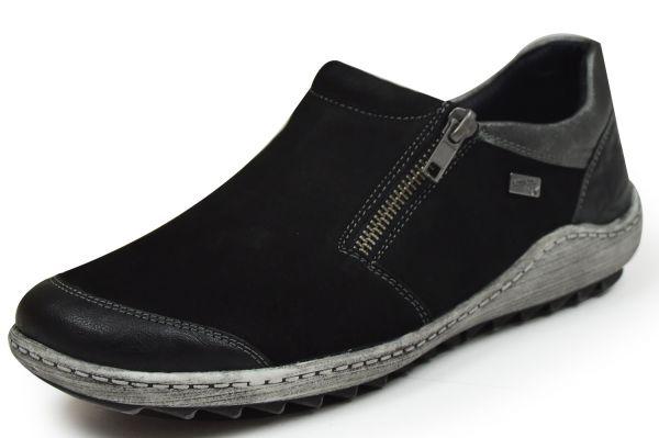 Remonte R1403-02 Damen Slipper schwarz
