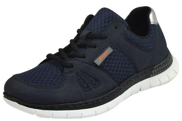 Rieker L5141 Damen Sneaker blau
