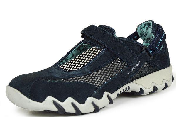 Mephisto Allrounder Niro Damen Sneaker Wechselfußbett ocean ( blau )