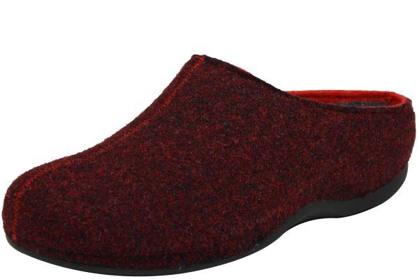 Romika Adelaide 01 Damen Pantoffeln bordo rot