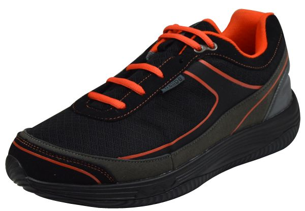 Wellbe Berlin unisex Sneaker waterproof schwarz/ orange