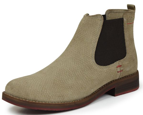 factory price 36413 2b850 s.Oliver 5-25335-37 Damen Chelsea Boots Pepper Snake (beige)