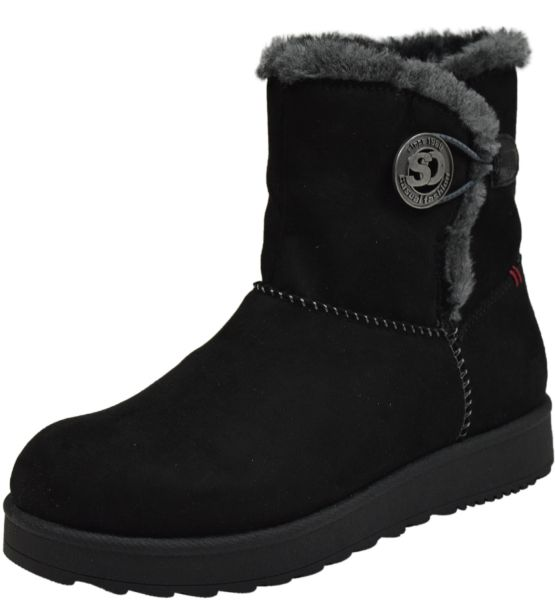 s.Oliver 5-26402-25 Damen Soft Foam Stiefel schwarz