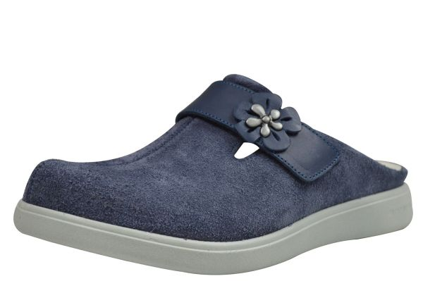 Romika Gomera 11 Damen Pantoffeln/ Clogs jeans ( blau )