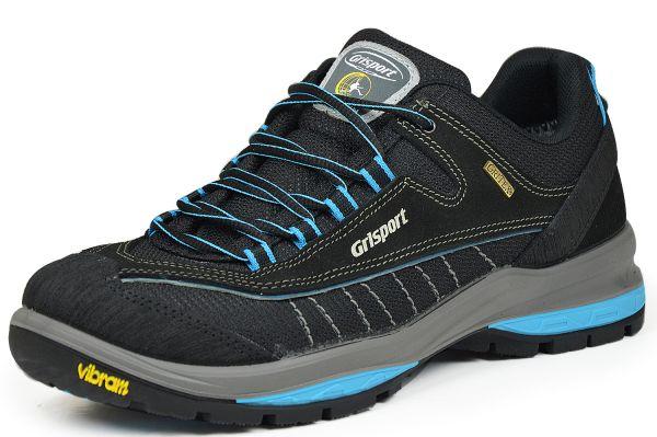 Grisport 12545S2G Nero Scamosciato Herren Outdoor- und Trekkingschuhe schwarz/blau