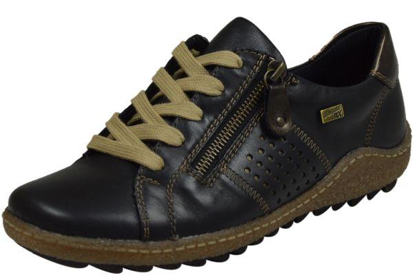 Remonte R4717 Tex Damen Sneaker schwarz kombi